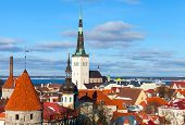 image of olaf  - Old Tallinn panorama - JPG