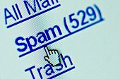 Map van Spam E-mail