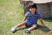 Adorable Hispanic Boy