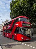 Modern London Bus