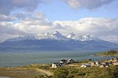 City of Ushuaia and Beagle Channel Tierra del Fuego Argentina