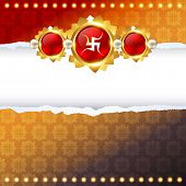 rakhi festival vector background design