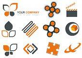 orange logo mix