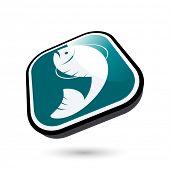 modern fish symbol