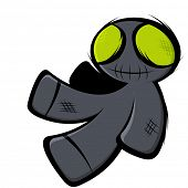 creepy voodoo doll