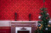 Sensasional Vintage Christmas Interior