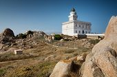 Lighthouse At The Capo Testa, Sardinia, Italy
