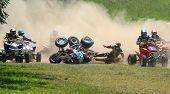 atv Motocross-Rennen