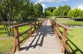 On The New Wooden Bridge