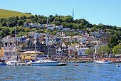 stock photo of dartmouth  - boats on the River dart at Dartmouth - JPG