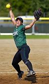 Canada Games Softball Woman Pitcher Ball