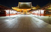 asakusa Sensoji temple in Tokyo Japan
