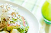 Crunchy Apple And Sunflower Seed Salad