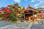 Small Temple in Chioin Complex in Kyoto