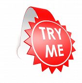Try Me Star Label