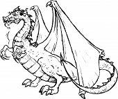 Tatto of a Black Dragon
