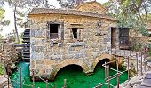 Dalmatian Village Traditional Stone Watermill