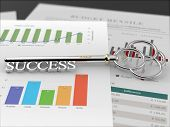 Key to Success - Financial Report Black