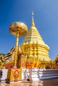 Pagoda At Wat Phra That Doi Suthep