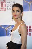 NEW YORK-FEB 1: Actress Keri Russell attends the 66th Annual Writers Guild Awards Ceremony at the Ed