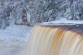 Upper Tahquamenon Falls Winter