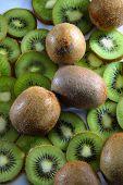 Kiwi Fruit Background.