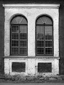 Vintage Windows With Lattices