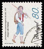 Postage Stamp Portugal 1997 Errand Boy