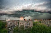 Actual Storm Clouds