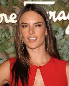 LOS ANGELES - OCT 17:  Alessandra Ambrosio arrives to the Wallis Annenberg Center for the Performing Arts Gala  on October 17, 2013 in Beverly Hills, CA