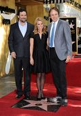 LOS ANGELES - JAN 29:  Jeremy Sisto, Cheryl Hines and Kevin Nealon Walk of Fame Honors Cheryl Hines