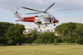 Coastguard Helipcopter Landing