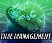 Europe Time Management Background poster