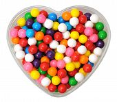 Colorful Gummy Ball Candies