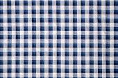 Blue Grid Cloth Texture Background