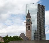 Historic old City Hall in Toronto, Canada