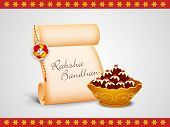 image of rakhi  - Raksha Bandhan celebrations concept with rakhi - JPG