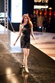 Fashion Show For Nancy Naguib Model 12 (on Runway)
