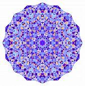 Abstract colorful circle backdrop