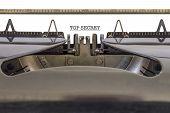 Top Secret Typewriter