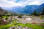 The Greek ancient amphitheater