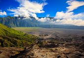 Path To Mount Bromo Volcano, East Java, Indonesia