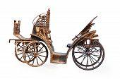 Vintage Metal Carriage