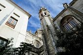 Yard Of The Jeronimos Monastery, Lisbon, Portugal