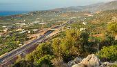 View Of Crete, Greece