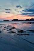 Iona Beach At Dusk