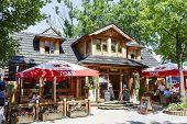 The Restaurant Called Karczma Bacowka In Zakopane