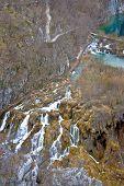 Plitvice Lakes Canyon Wooden Boardwalks