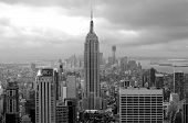 Manhattan black and White panorama