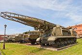 Soviet Rocket Launcher 2P19 Of Missile Complex Elbrus (scud-b)